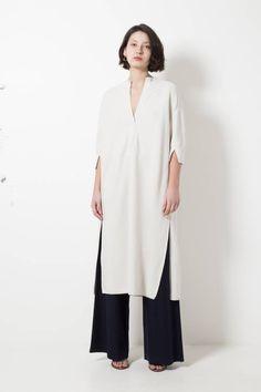 Molli erica pure worsted cotton maxi tunic - wendela van dijk