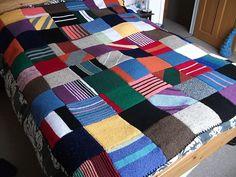 ron weasley blanket   Ravelry: GothKnitty's Ron Weasley blanket!