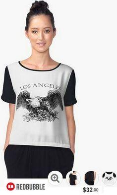 Los Angeles Chiffon Shirt #artbyurte