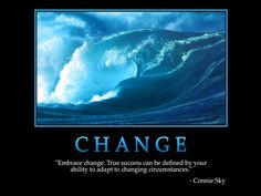 Inspirational Quote About Change 4 Picture Quote #1