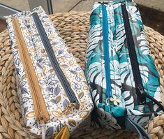 @alefebvre67 sur Instagram: Un duo de trousses Zip-zip ! Et une 3ème est déjà en préparation grâce au patron de @patrons_sacotin #troussezipzip #couture #coutureaddict