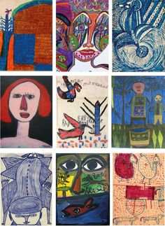 Do you like Outsider Art, Raw Art or Art Brut?   Explore www.outsider-art-brut.ch (www.aussenseiterkunst.ch for german), a gallery page, regularly updated, presenting already recognized and yet unknown outsider artists.   Thus, for example, works of Willie White, George Jagiello EMO, Madge Gill, Camel Nehdi, Willie Jinks, Michael Hall, Ernst Kolb, Jaber al-Mahjoub and Carter Wellborn...