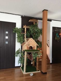 Making a natural-looking cat tree - Imgur #cadioideas
