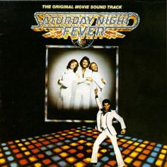 Saturday Night Fever, The Bee Gees + Various Artists, 1977. Interestingly, while Saturday Night fever has a pumpin' soundtrack, it's a pretty grim, urban film. Aesthetically the cover is revolting but it sold a bundle.
