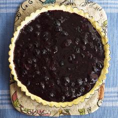 Blueberry Tart #glutenfree #grainfree #paleo
