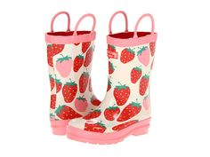 Hatley Kids Rain Boots (Toddler/Little Kid) Summer Strawberries - Zappos.com Free Shipping BOTH Ways
