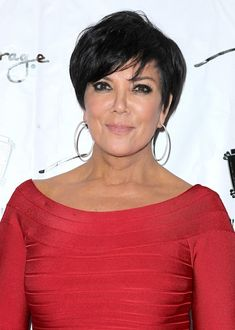 Kris Jenner - classy as always with a lot of help.