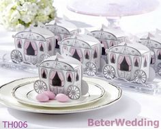 Baby Birthday Party Decoration Enchanted Carriage Favor Box BETER-TH006        ; #wedding# #bride#  #boda# #weddingfavorbox# http://www.aliexpress.com/store/product/Wedding-Dress-Tuxedo-Favor-Boxes-120pcs-60pair-TH018-Wedding-Gift-and-Wedding-Souvenir-wholesale-BeterWedding/512567_594555273.html