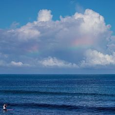 Waves have dropped but it's safe to say that we're still enjoying #Paradise _____________________________ #puertoricolohacemejor #whateverpuertorico #hashtagpuertorico #igerspr #loverinconpr #rainbow  _____________________________ Photo by @macswellington