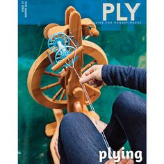 The Plying issue of PLY Magazine is so beautiful I can hardly stand it. It's full of some voices you know and trust as well as a few new ones it was a pleasure to work with. If you're a staunch singles spinner, don't worry; Beth Smith starts the issue by breaking it down as if you've never plied before. Michelle Boyd, resident precise-spinner then swoops in to demystify plying math by looking at, investigating, and testing all the popular plying formulas. It's pretty awesome, and if plying…