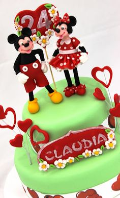 viorica's cakes: Mickey and Minnie
