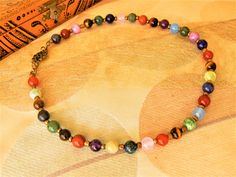 Agate Mousse, Beaded Necklace, Bracelets, Jewelry, Chill Pill, Stone Beads, Stones, Necklaces, Beaded Collar