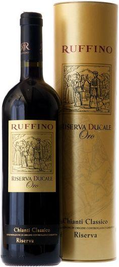 Ruffino Ducale Oro - Chianti Classico Riserva DOCG – #Giftbox
