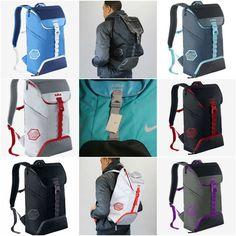 best website cd7ac 383d1 Nike Lebron James Ambassador Basketball Laptop Backpack BA5111 Black Blue  Grey  Nike  Backpack