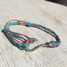 Starfish wishes Hooked on you Anklet by Upyouranchor on Etsy