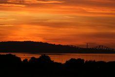Sunset over Granton (Gareth Watkins)