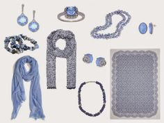 A Grey Capsule Wardrobe with Soft Blue | The Vivienne Files