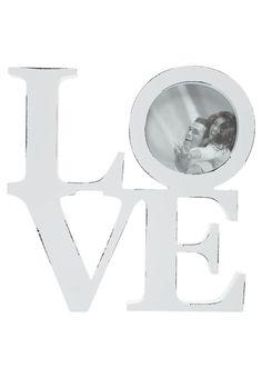 LOVE - Bilderrahmen - white