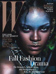 Wild Child Rihanna | W Magazine F2014 by THE CHIC STREET JOURNAL on Lucky Community