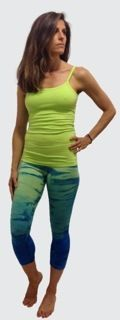 hardtail fashion    Hard Tail got these new green rainbow wash leggings right.  This low rise legging takes in all of 2013's fashion trends.  The color and specialty dye alone puts hard tail ahead of the game.  Being green in more ways than color this legging will be your fitness, fashion, and loung legging forever Hard Tail!  We love it back with the new Tiffany blue cross back tank or the kiwi scoop tank.