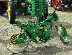 If you are a John Deere fan, this is the bike for you.