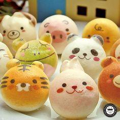 animal buns!