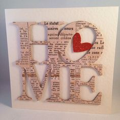 New Home/Housewarming Newsprint Card by STUFFBYSARACARDS on Etsy