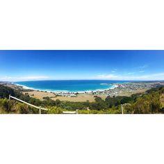 #apollobay #sunny #sun #australia #ocean #beach #coast #waves #sky #panorama by biinka11 http://ift.tt/1LQi8GE