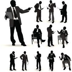 Vectores libres de derechos: Business people