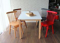 鄉村風溫莎系列餐椅 網路售價: $2500 / 日租: $500