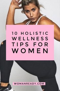 10 wholesome holistic wellness tips for women – to address your body, your mind and your spirit too. #wellness #wellbeing #health #healthylifestyle #mentalwellness #coaching #holistic #holistichealth #fitness #lifestyle Holistic Wellness, Wellness Tips, Health And Wellness, Health And Fitness Tips, Health Tips, Health Facts, Healthy Living Tips, Health Education, Weight Loss Journey