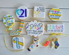 World Down Syndrome Day Cookies - Ralph & Co. Confections