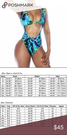 High waisted 2 piece sexy swimsuit Make your summer bright and sexy with this multi toned swimsuit, fits true to size. Excellent quality! Swim Bikinis