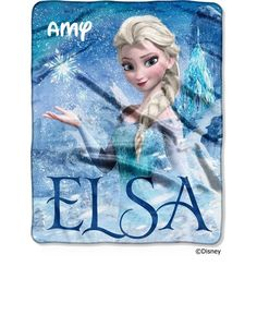 Frozen Silk Touch Elsa Palace Throw up with your favorite Snow Queen from Disney's Frozen with this silk-touch throw. This colorful and fun throw is made out of a material that literally feels like silk to the touch! Decorated with a lively Frozen design. Frozen Bedding, Disney Bedding, Disney Frozen Elsa, Disney Princess, Ice Princess, Silk Touch, Thing 1, Fleece Throw, Disney Girls