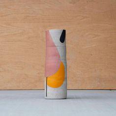 Hand-painted vase | Pawena Thimaporn | pawenastudio.com