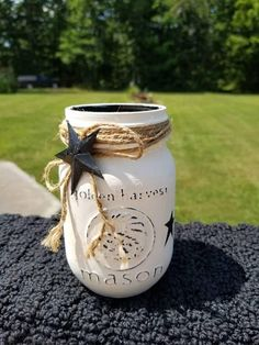 Check out this item in my Etsy shop https://www.etsy.com/listing/544540915/distressed-rustic-pint-size-mason-jar