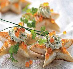 Toast met kruidenkaas en zalmeitjes - Weekend Knack !