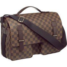 cac6e526372 Louis Vuitton Damier Ebene Canvas Broadway N42270 Ahj-240 Louis Vuitton  Mens Bag, Louis