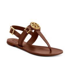 tory burch brown sandals | Tory Burch Thong Sandal Brown (Fast Delivery)