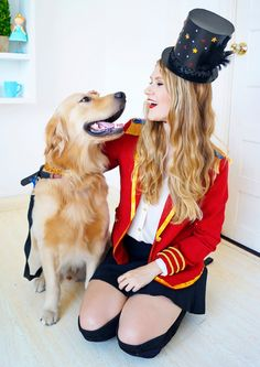 Diy lion tamer costume add a pup or a lion person for an extra this homemade lion tamer costume is so cute learn how to make it yourself on solutioingenieria Choice Image