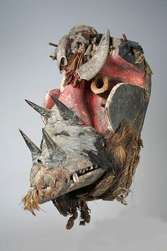 Mask, Wee peoples, Côte d'Ivoire or Liberia, 19th-mid 20th century