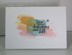 Work of Art Sneak Peek & Project Life by Stampin' Up! is Here