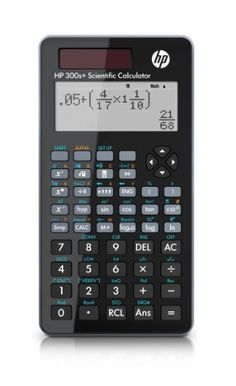 Hewlett Packard 300S+ Engineering/Scientific Calculator by HP. $15.99. Arm yourself with the sophisticated HP 300s+ Scientific Calculator with advanced functions to tackle your most challenging Math and Science courses