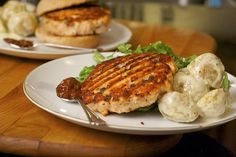 Salmon Burgers by laura pants, via Flickr