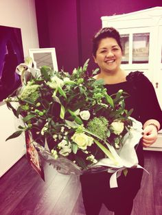 Zelfs de Prezi Helpdesk krijgt wel eens bloemen! Lieve opdrachtgevers toch!