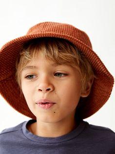 Corduroy Bucket Hat Detskie Portrety Krasivye Malchiki Milye Malchiki