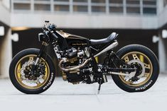Think you're busy? Spare a thought for Tyler Henschell from Arkansas' One-Up Moto Garage. A one man shop that designs, builds and finishes a custom ride every three months. Each bike is a rolling resumé that showcases the incredible work he does alone - and none more so than his this, his latest latest build...