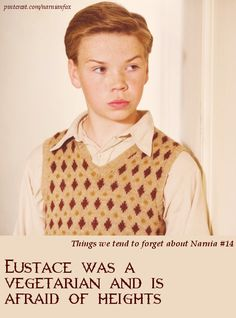 Ya don't say.But then Eustace became a dragon that would naturally eat meat and fly. Cair Paravel, Narnia 3, Will Poulter, Green Dragon, Chronicles Of Narnia, Cs Lewis, Movies Showing, Bibliophile, Lotr