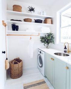 Laundry Room Cabinets, Laundry Room Organization, Diy Cabinets, Laundry Detergent Storage, Laundry Room Countertop, Laundry Shelves, Laundry Room Bathroom, Blue Cabinets, Laundry Closet