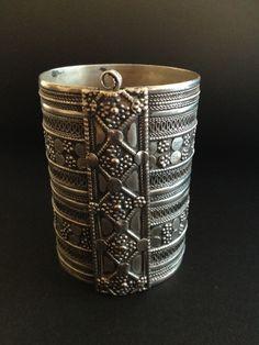 Silver cuff from Yemen